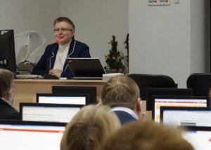 Обучение преподавателей СПбГАСУ работе в СДО Moodle