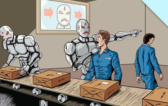 «Он придет и молча поправит все»: как роботы меняют рынок труда